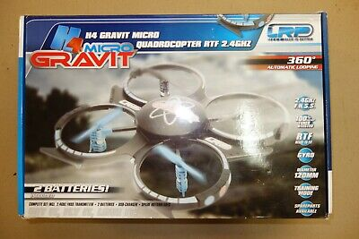 Lrp H4 Micro Gravit Quad Copter Quadcopter Rc R/c Toy Copter • 45£