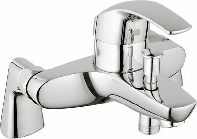 GROHE Eurosmart Bathroom Shower Tub Mixer Tap, Wall Mount, Chrome With Eschouten • 62£
