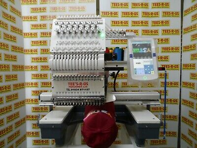 £5940 • Buy Single Head 15 Needle Industrial Cheap Embroidery Machine