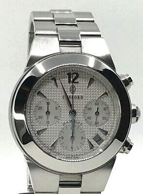 $2400 • Buy Concord Mariner Automatic Chronograph Stainless Steel Watch 14 H7 1891