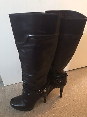 Ladies / Knee High Boots/ Gucci / Autehentic / Size 4 /2008 Style • 100£