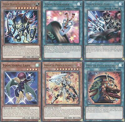 Yugioh Toon Chaos Single Cards - Choose From All Cards! 1st Edition • 1.03£