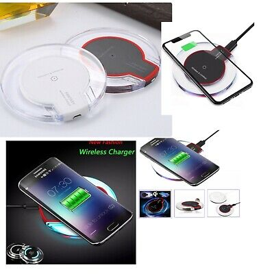 Super Fast Q1 Wireless Mobile Phone Charger Pad For Apple Android Samsung Huawei • 3.99£