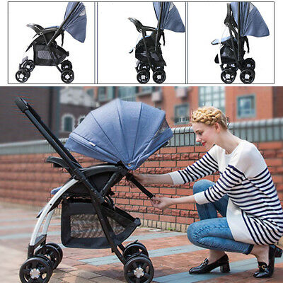 AU98.18 • Buy New Compact Lightweight Baby Stroller Pram - Travel Carry-on Plane - Foldable AU