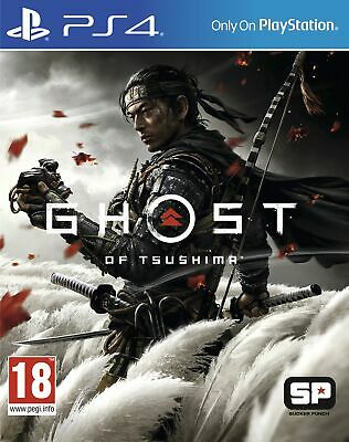 £31.85 • Buy Ghost Of Tsushima (PS4) Brand New & Sealed Fast Free UK P&P
