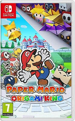 Paper Mario: The Origami King (Switch) Brand New & Sealed Fast Free UK P&P • 44.99£