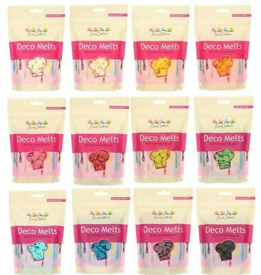 FunCakes Candy Melts Cake Pop Chocolate Buttons All Colors 250g Deco Easy To Use • 5.85£