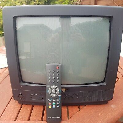 Goodmans 1425RS CRT Television With Remote Control Multi Console Retro Gaming • 39.95£