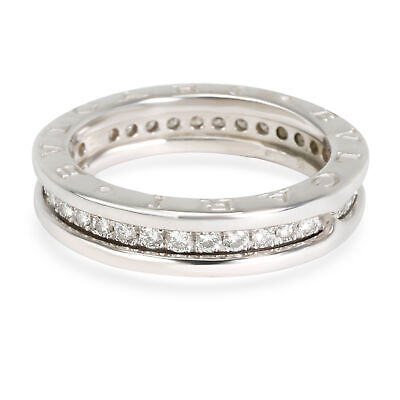 AU4632.43 • Buy Bulgari B Zero 1 Diamond Band In 18K White Gold 0.34 CTW