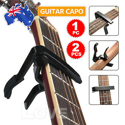 AU5.95 • Buy Aluminum Guitar Capo Spring Trigger Electric Acoustic Clamp Quick Change Release