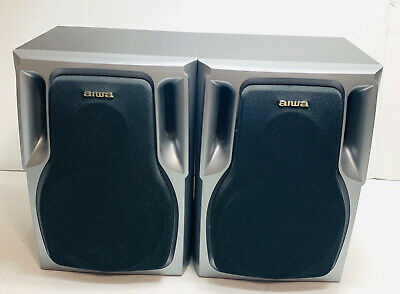 $49 • Buy Aiwa Speaker System L And R SX-NA302 Free Shipping