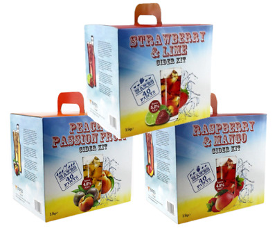 Young's Boxed Cider Kit 40 Pints 23L -  Exciting Flavours - Home Brewing P&P UK • 38£
