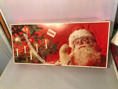 $ CDN34.05 • Buy Vintage Luma Sweden Julgransbelysning 16 Clip On Candle Christmas Lights New Box
