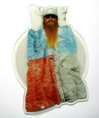 Near Mint ZZ Top Sleeping Bag Ltd Ed Dusty Hill Shaped VINYL Picture Disc NM • 31.99£