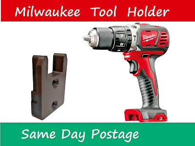 AU5.99 • Buy Milwaukee M18 Tool Mount - Holder Bracket 18v Battery Drill Impact