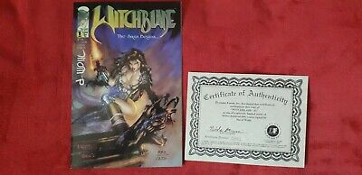 Witchblade #1 Signed Comic • 25£