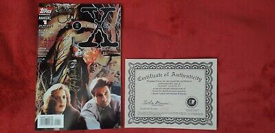 X-Files Annual #1 Signed Comic • 30£
