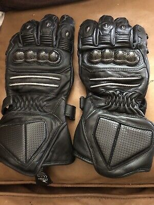Crane Motorcycle Motorbike Scooter Moped Gloves Black Size As Per Tag XL • 14.99£