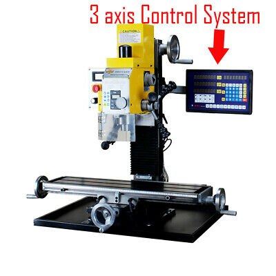 $1899.99 • Buy WMD25V 750W Multi-function Drilling Milling Machine +3-Axis Readout System 220V