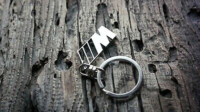 $12.50 • Buy M Power Keychain For BMW Keyring Stainless Steel Key Chain Fob Tag Unofficial