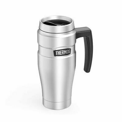 AU49.99 • Buy Thermos 470ml Vacuum Insulated Stainless Steel Double Wall Travel Mug / Handle