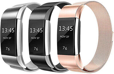 $ CDN9.93 • Buy Metal Milanese Band For Fitbit Charge 3 4 Charge 2 Alta Stainless Steel Strap