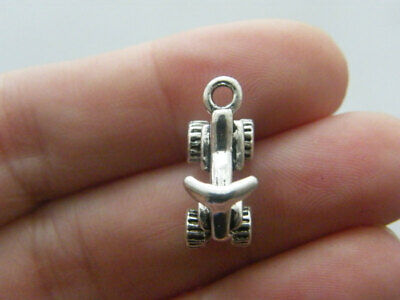 BULK 20 Quad Bike Charms Antique Silver Tone TT74 • 7.95£