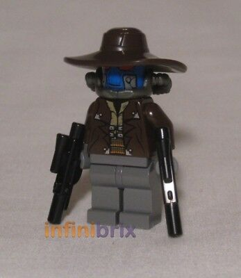 Lego Cad Bane Minifigure From Sets 8128 + 8098 Star Wars NEW Sw285 • 14.95£