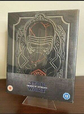 AU206.32 • Buy Star Wars The Rise Of Skywalker Steelbook (3D-Blu-ray/2D-Blu-ray) Factory Sealed
