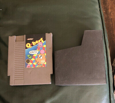 $ CDN19.02 • Buy Q*bert (Nintendo Entertainment System, 1989) Qbert NES W/ Sleeve
