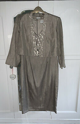 Roman Dress And Jacket Size 12 Ideal For Wedding • 13.99£