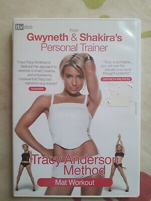Tracy Anderson Method Mat Workout - Region 2 Dvd Gwyneth Paltrow Shakira Trainer • 1.99£