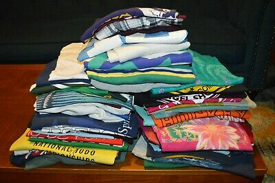 $ CDN346.20 • Buy Vintage T-Shirt Polo Jersey Wholesale Lot Of 50!!! 80s 90s Pop Culture Sports ++