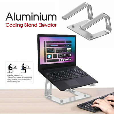 AU30.99 • Buy Aluminium Cooling Stand Elevator Ergonomic For Laptop MacBook