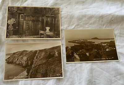 Vintage Judges / Valentines Postcards From Guernsey.  X 3 Unposted. • 5.75£