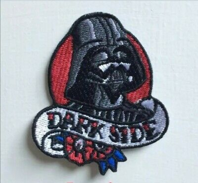 Star Wars Dark Side Badge Clothes Embroidered Iron On Sew On Patch  • 1.89£