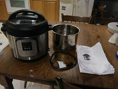 $76 • Buy Instant Pot IP-DUO60 V3 6 Qt 7-In-1 Multi-Use Programmable Pressure Cooker