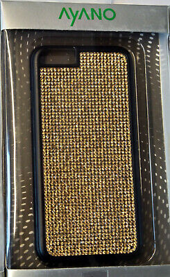 Ayano Glam Hard Back Case Cover For Iphone 6 6S Leopard Zebra Crystal Gold • 15.76£