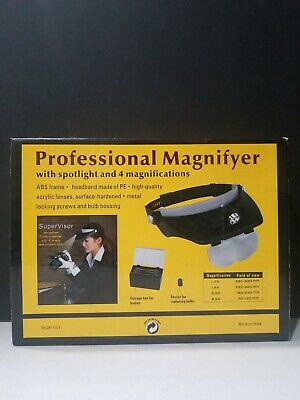 Magnifying Visor With Lights From Jewelry Television MG81001 • 15.06£