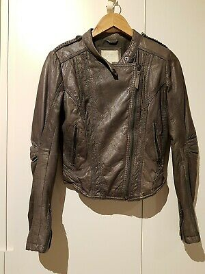AU35 • Buy Bershka Real Leather Goat Skin Jacket EU S