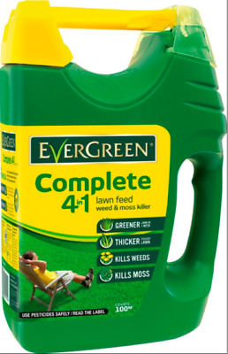 £13.99 • Buy Miracle Gro EverGreen Complete 4 In1 Lawn Feed Spreader Weed & Moss Killer 100m²
