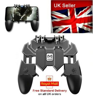 £5.99 • Buy Mobile Phone Game Controller Trigger Gamepad Console PUBG Call Of Duty COD