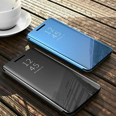 AU14.95 • Buy Luxury Mirror Flip Cover Phone Case For Oppo Find X2 Pro Find X2 Neo X2 Lite
