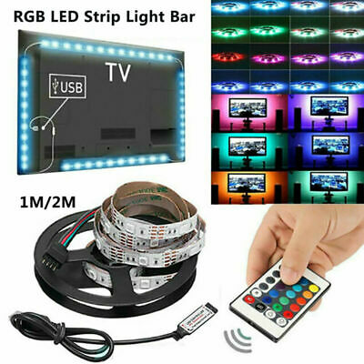 $6.99 • Buy 32FT Flexible 3528 RGB LED SMD Strip Light Remote Fairy Lights Room TV Party Bar