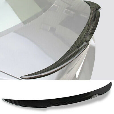 $83.99 • Buy Rear Trunk Spoiler Wing For 07-13 BMW E92 3 Series & M3 Coupe Carbon Fiber Style