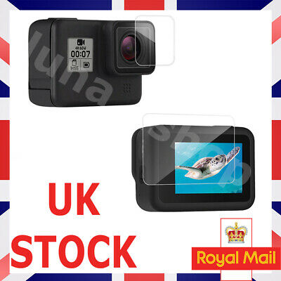 $ CDN5.76 • Buy GoPro Hero 7 6 5 Black Tempered Glass Screen Protector Front And Back UK STOCK