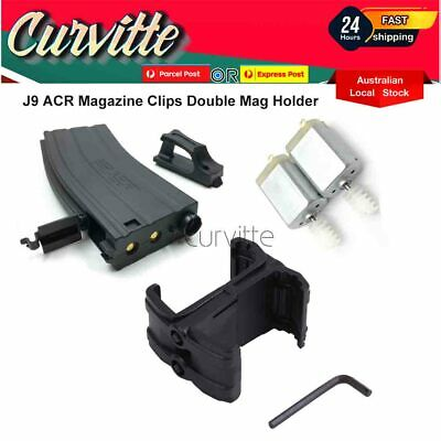 AU12.95 • Buy J10 ACR Magazine Clips Double Mag Holder Replacement Part For Gen 10 Gel Blaster