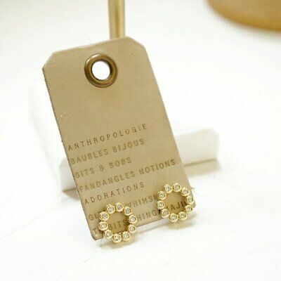 $ CDN54.09 • Buy Anthropologie Delicate Crystal Circlets Studs Earrings