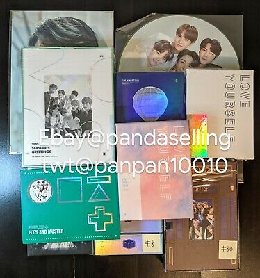 $12 • Buy BTS 4th Muster/Live Trilogy/memories/Epilogue JUNGKOOK/SUGA/JIMIN Kpop US Seller