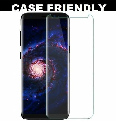 $ CDN3.41 • Buy For Samsung Galaxy S8  Full Curved 3D Tempered Glass LCD Screen Protector Clear